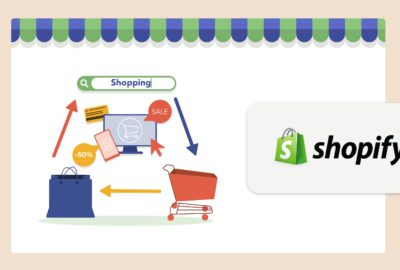 How to set a new domain name for a Shopify store.
