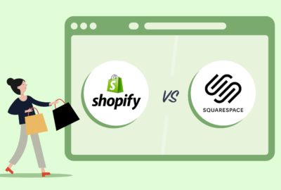 Squarespace and Shopify overviews.